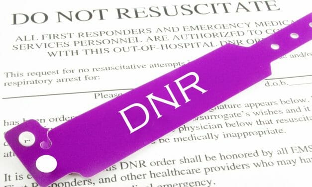 'Do not resuscitate' – treating the old like royalty?