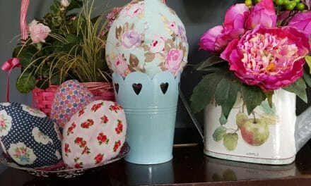 HOMEGROWN HOME: Fabric Easter Eggs