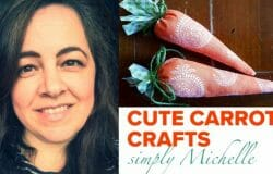 Michelle shows us how to make these gorgeous carrot crafts