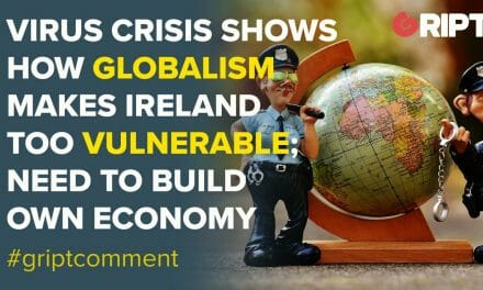 Ireland's dependence on China for goods like PPE is another sign of how vulnerable we are when international markets fail