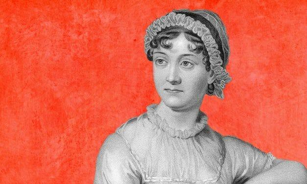 Social distancing with Jane Austen