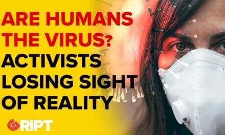 "Journalists like Fintan O'Toole say ""Humans are the virus"" from the earth's perspective."