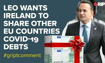 Leo Varadkar wants Ireland to share other EU countries' debts