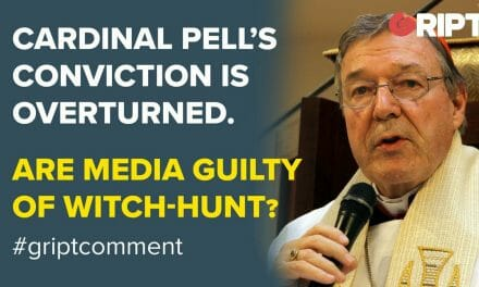 Media are guilty of a witch-hunt says Tim Jackson, as Cardinal Pell is found not guilty