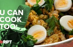 You Can Cook Too 30 - Salmon Kedgeree