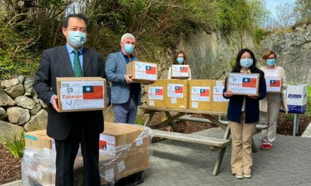 Taiwanese community donates PPE to Irish nursing homes