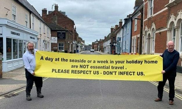 """""""Respect Us, don't infect us"""": locals angered as holiday homes fill up"""