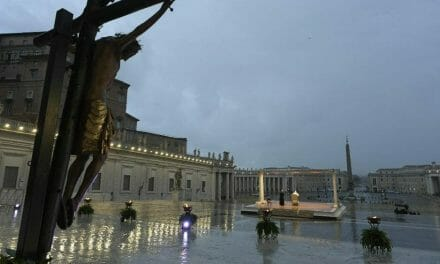 The pope's message offers hope to a fearful world