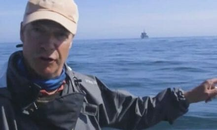 """Farage helps save 20 migrants on dingy crossing English Channel, calls it an """"invasion"""""""