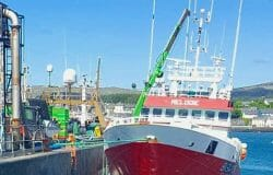 Fishermen say foreign fishing vessels continue to break Covid-19 rules