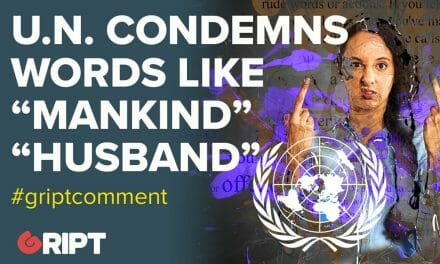 "U.N. Condemns Words Like ""Mankind"", ""Husband"""