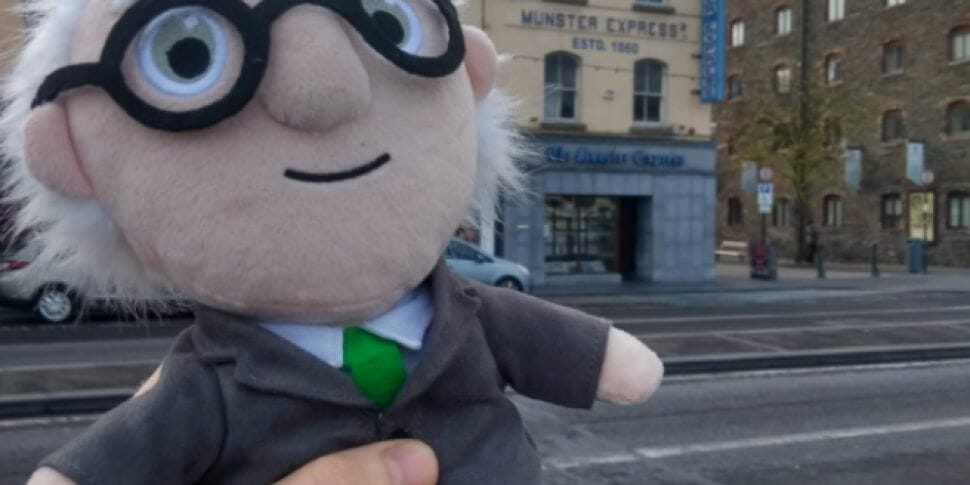 Confirmed: President Higgins is a fool