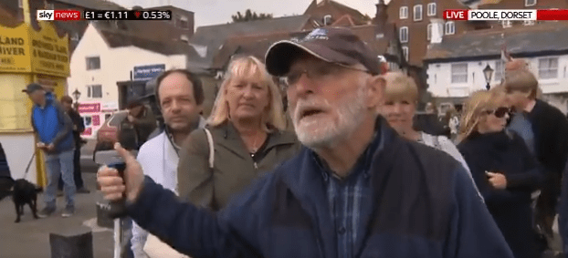 I WILL FIGHT YOU: Ordinary British locals come out to defend statue