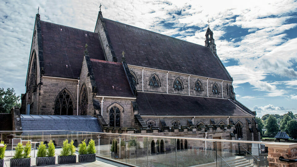 """""""We can have an abortion, but not a baptism"""": Shrewsbury Cathedral tweet makes waves"""