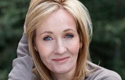JK Rowling attacked for saying 'people who menstruate' are women