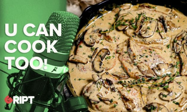 You Can Cook Too 38 – Pork chop with wild mushrooms and cider cream sauce