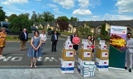 Taiwanese Community donates PPE to 3 Nursing Homes in Cavan