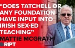 """Mattie McGrath, IND TD: """"Does Tatchell or his foundation have any input to Irish sex education"""""""