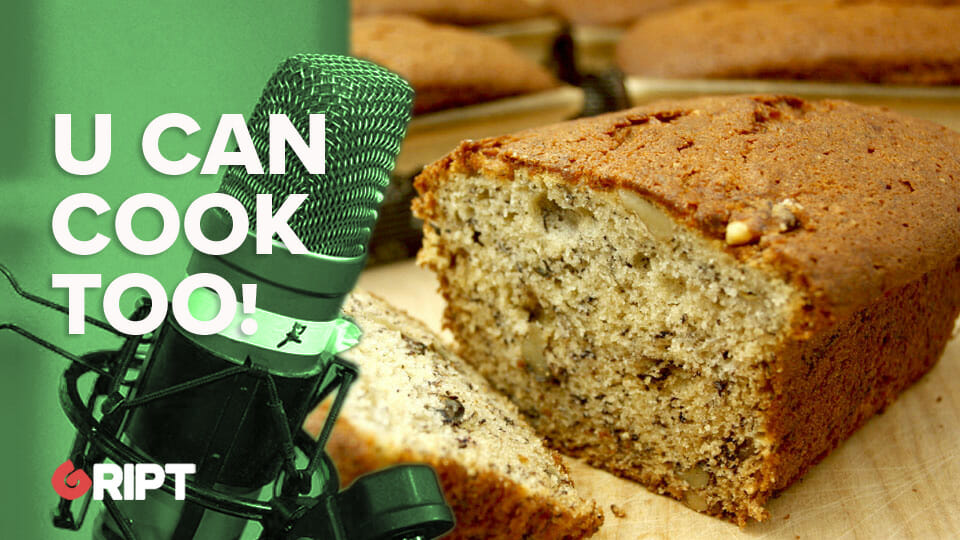 You Can Cook Too 41 – James' Banana Bread