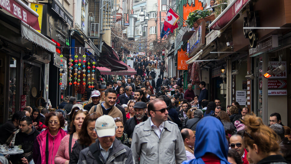Turkey's fertility rate is now below the replacement rate