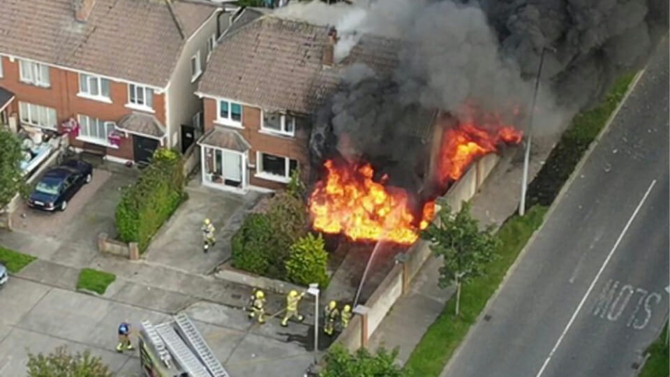 Why the media blackout on gangs and house burning in         Balbriggan?