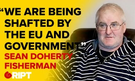 Eel fisherman, Sean Doherty, claims that the entire industry is being shafted by the EU