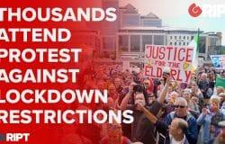 Thousands attend protest against lockdown restrictions  #gript