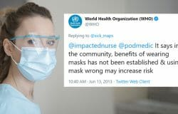 BEN SCALLAN: For years, health authorities said masks weren't needed. Why the change?
