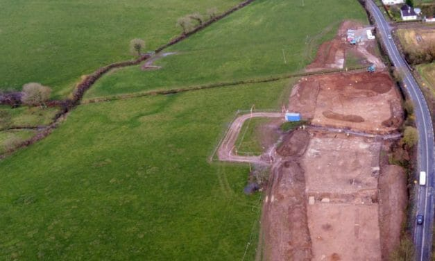 5,700 year old Neolithic House uncovered in Cork