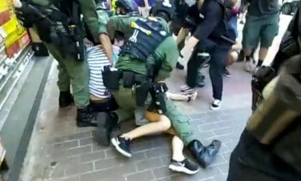 12-year old arrested: Police brutality against Hong Kong protest on delayed election