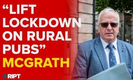 McGrath: Lift pub lockdown, let people get back to living alongside Covid-19